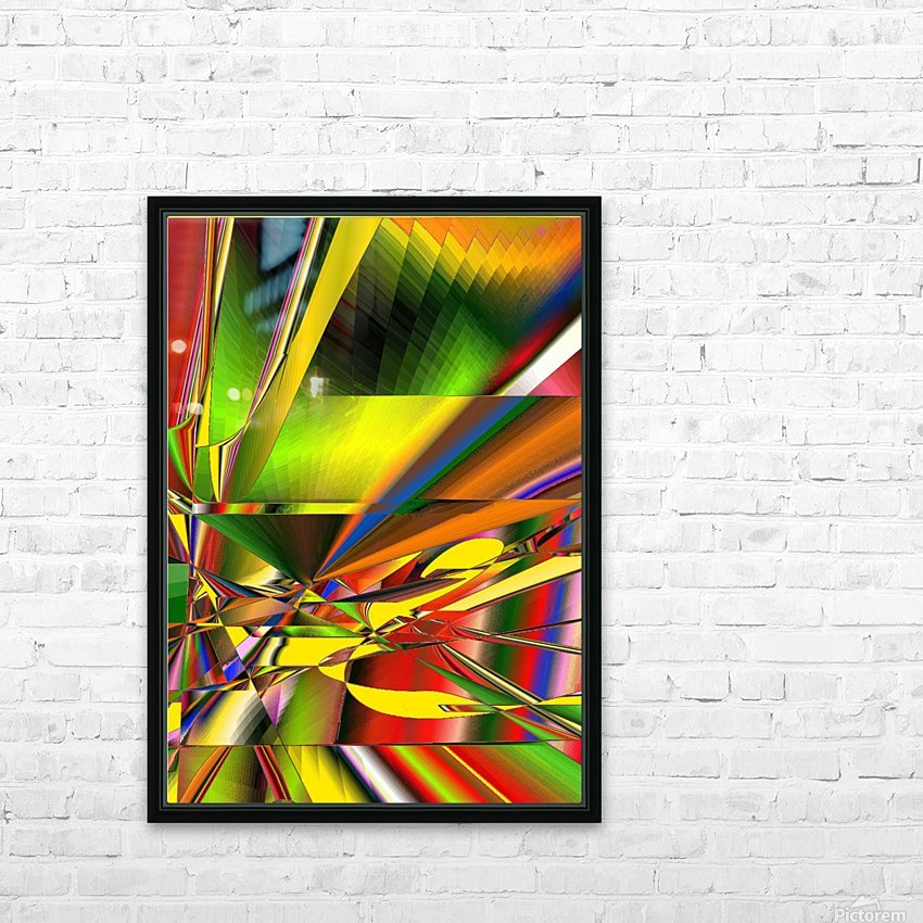 On the stage 11.23a3 18HP HD Sublimation Metal print with Decorating Float Frame (BOX)