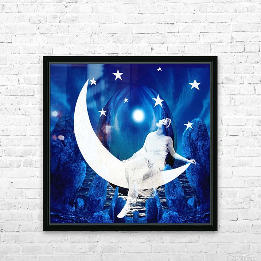 Starlight HD Sublimation Metal print with Decorating Float Frame (BOX)