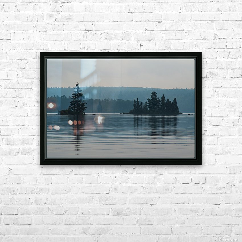 Cedar Lake HD Sublimation Metal print with Decorating Float Frame (BOX)