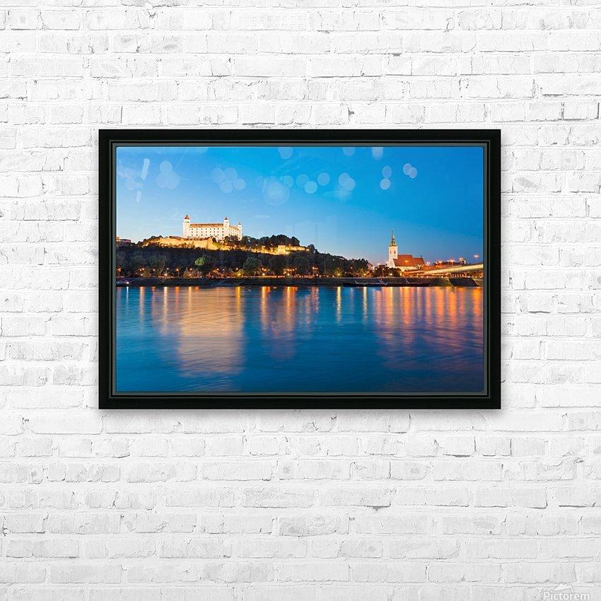 BRATISLAVA 05 HD Sublimation Metal print with Decorating Float Frame (BOX)