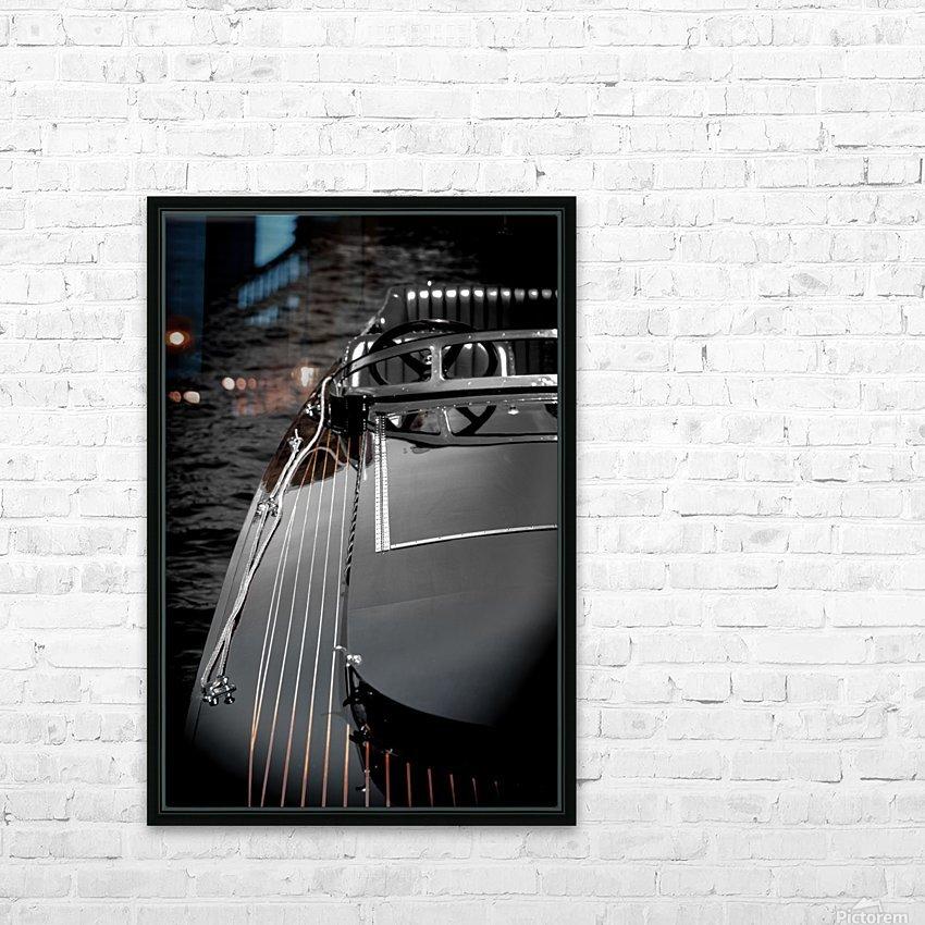 Antique Boat 3 (1 of 1) HD sublimation métal imprimé avec décoration flotteur cadre (boîte)