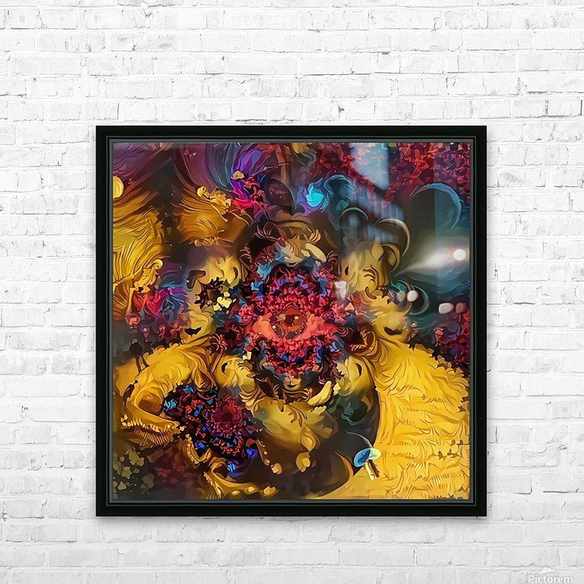 Colorful Fantasy HD Sublimation Metal print with Decorating Float Frame (BOX)