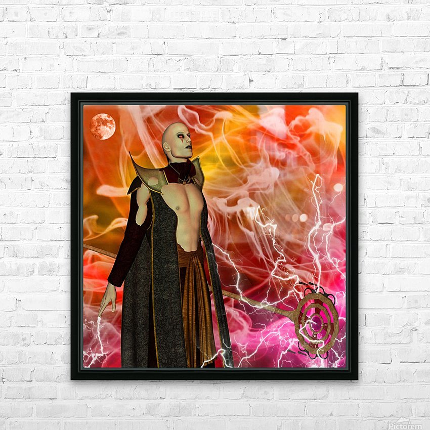 Merlin HD Sublimation Metal print with Decorating Float Frame (BOX)