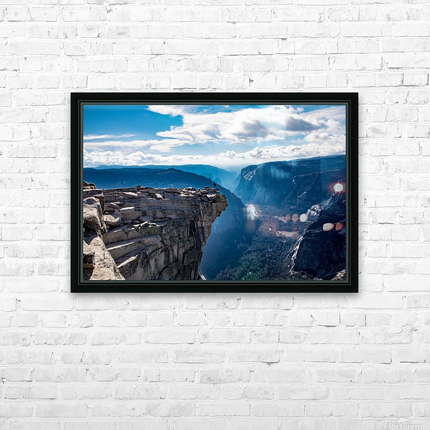 Top of Half Dome HD Sublimation Metal print with Decorating Float Frame (BOX)