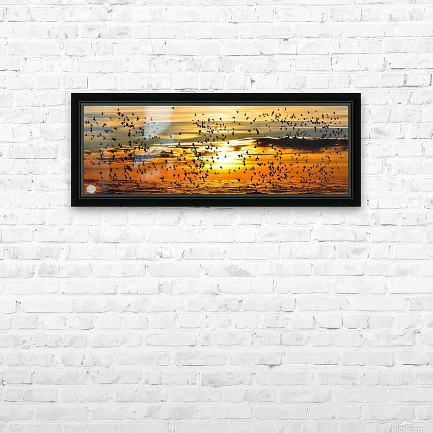 Beautiful Nature Landscape sunrise sunset sun Photography landscape photo Scenery HD Sublimation Metal print with Decorating Float Frame (BOX)