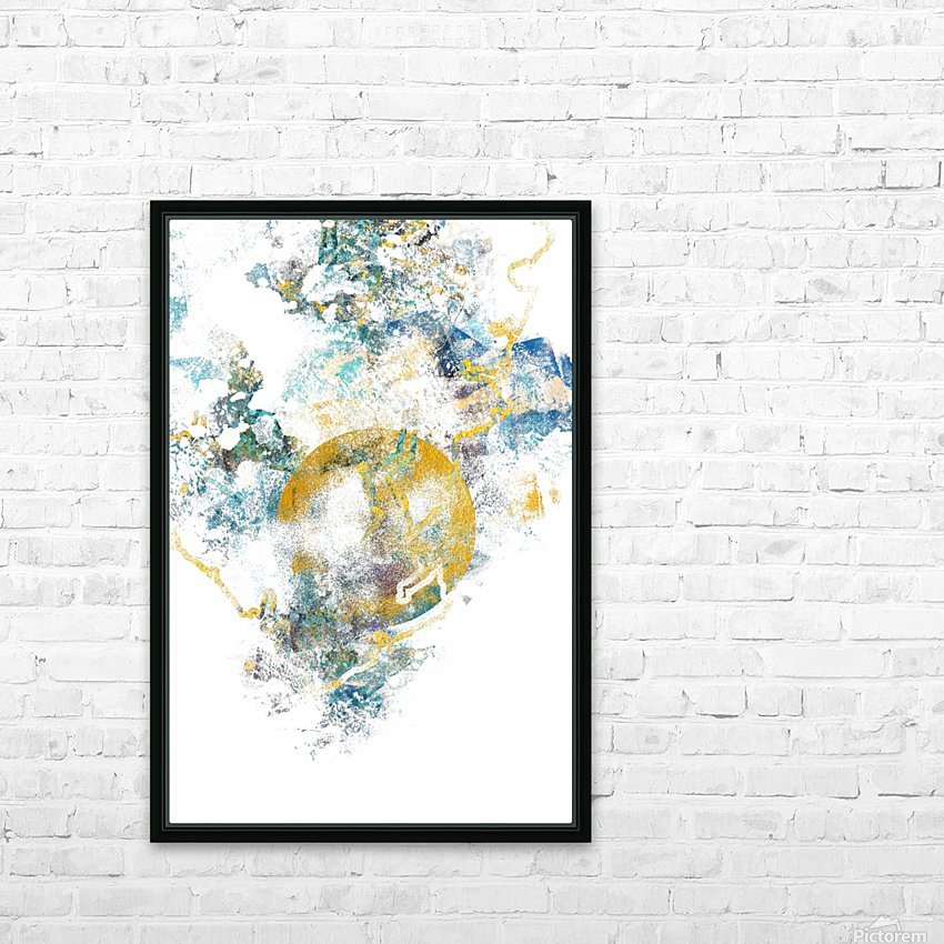 Natures Call - Abstract Painting III HD Sublimation Metal print with Decorating Float Frame (BOX)