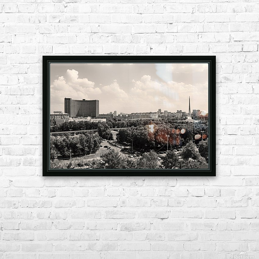 Mosocw Air View IV HD Sublimation Metal print with Decorating Float Frame (BOX)