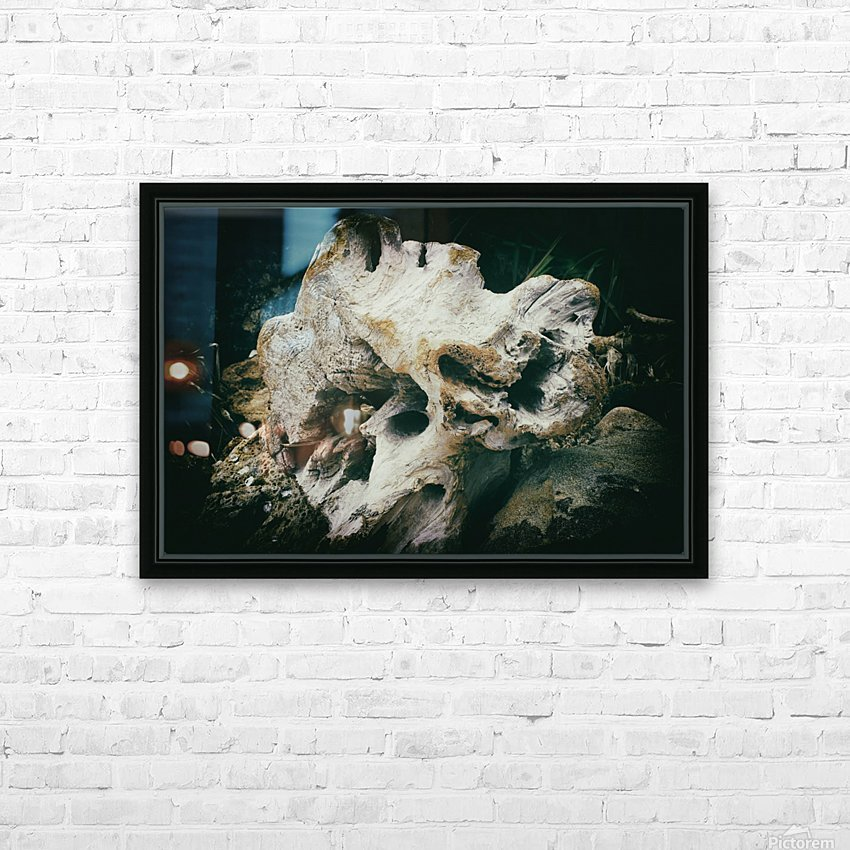 Forgotten HD Sublimation Metal print with Decorating Float Frame (BOX)