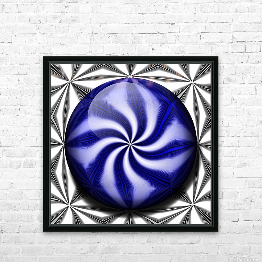 Twisted Mint HD Sublimation Metal print with Decorating Float Frame (BOX)