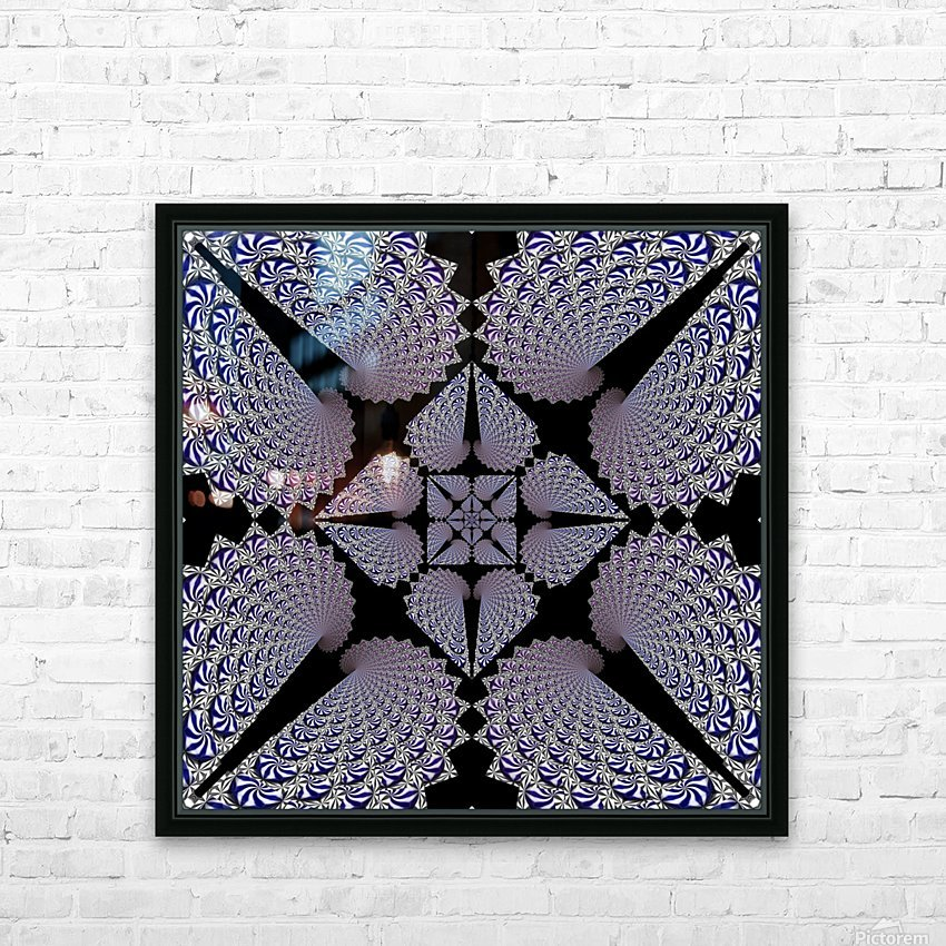 Twisted Mint Madness HD Sublimation Metal print with Decorating Float Frame (BOX)