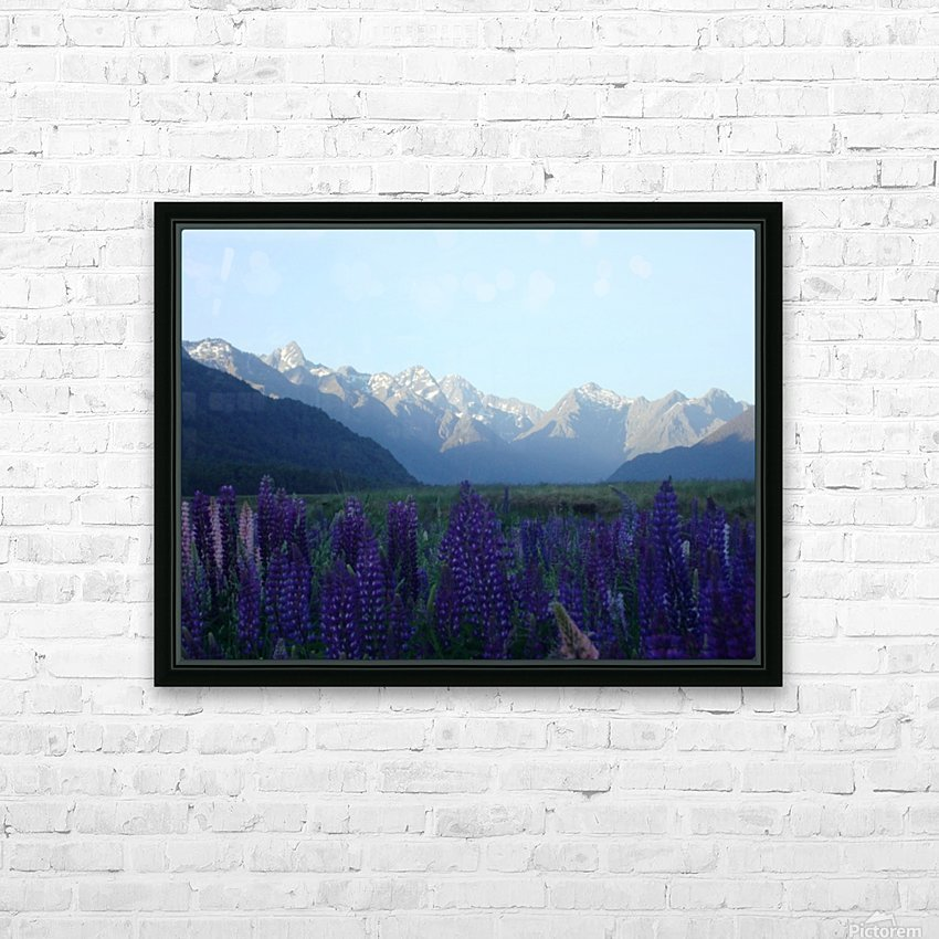 Valley Garden HD Sublimation Metal print with Decorating Float Frame (BOX)
