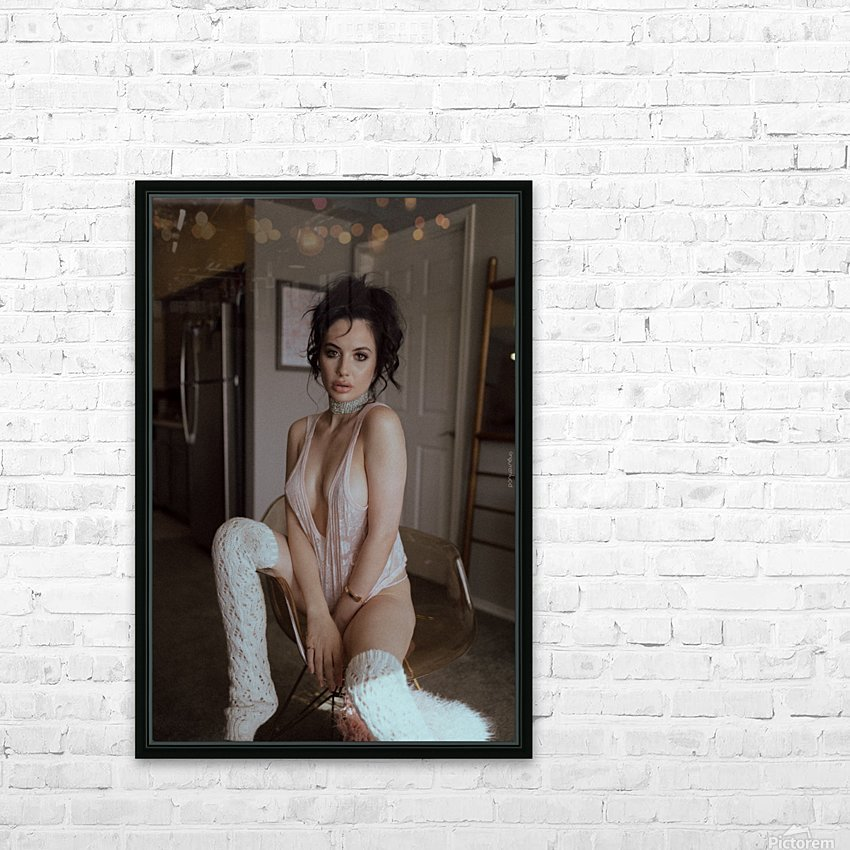 Stepford HD Sublimation Metal print with Decorating Float Frame (BOX)