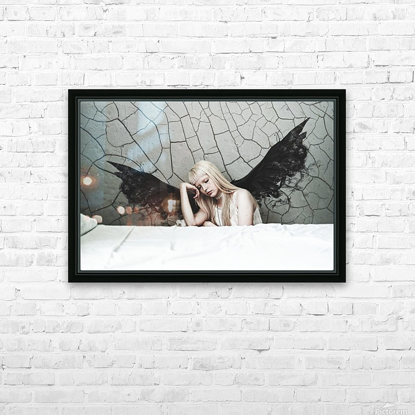 Find Me In The Cracks HD Sublimation Metal print with Decorating Float Frame (BOX)