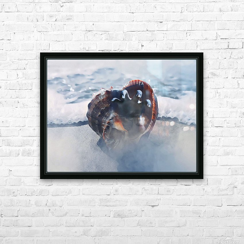 By The Dead Sea HD Sublimation Metal print with Decorating Float Frame (BOX)