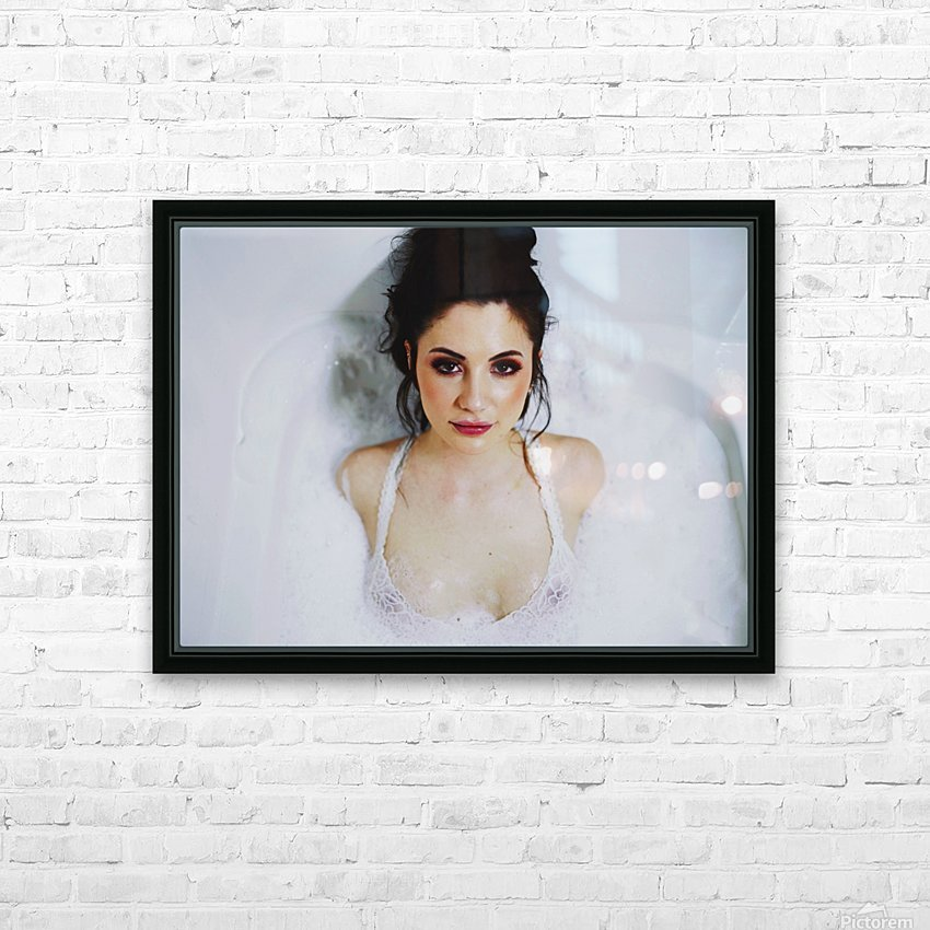 Raw HD Sublimation Metal print with Decorating Float Frame (BOX)