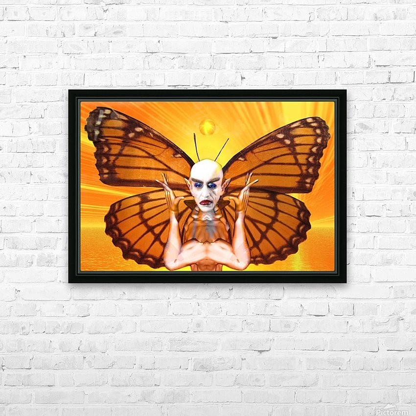 Metamorphosis of Nosferatu HD Sublimation Metal print with Decorating Float Frame (BOX)