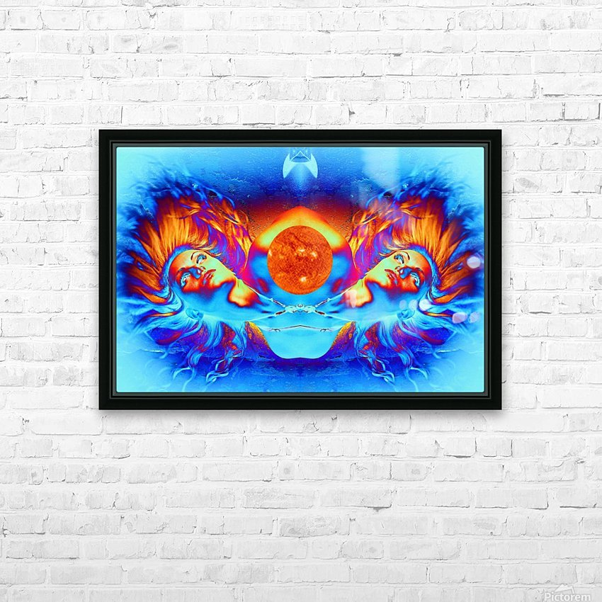 Escape from the Sun HD Sublimation Metal print with Decorating Float Frame (BOX)
