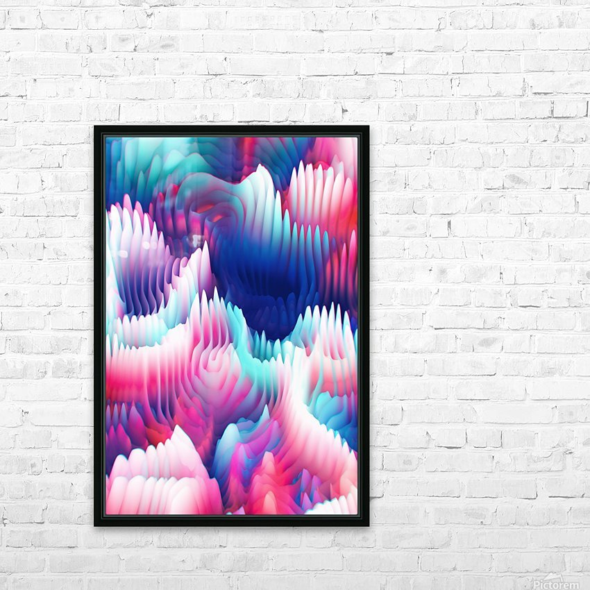 Into The Unknown XXIII HD Sublimation Metal print with Decorating Float Frame (BOX)