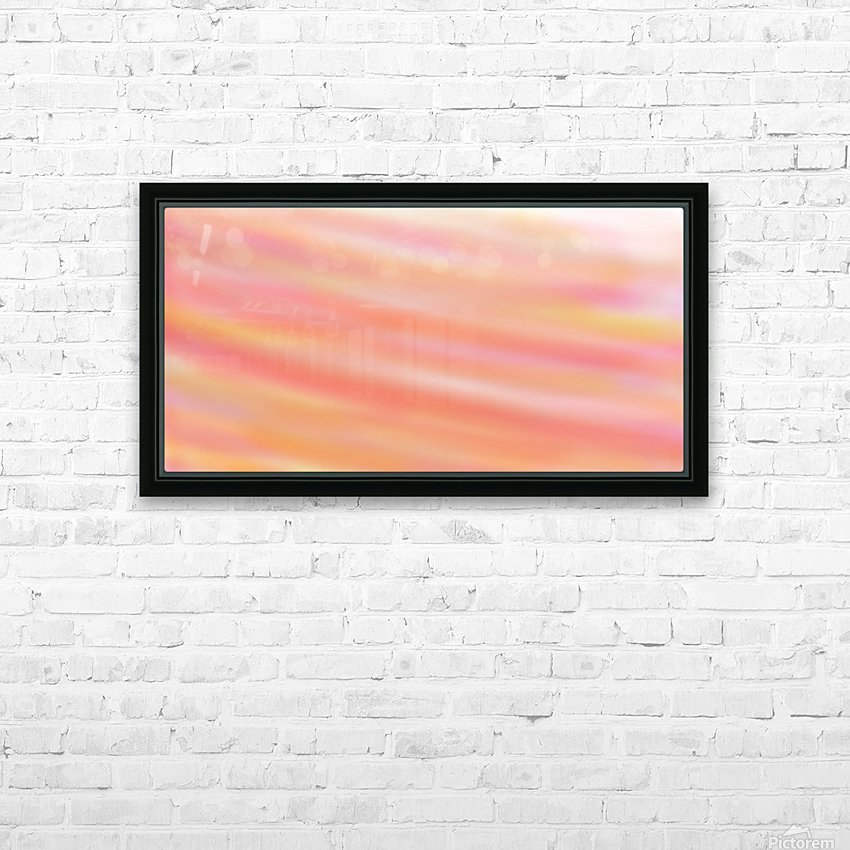 CandyFloss HD Sublimation Metal print with Decorating Float Frame (BOX)