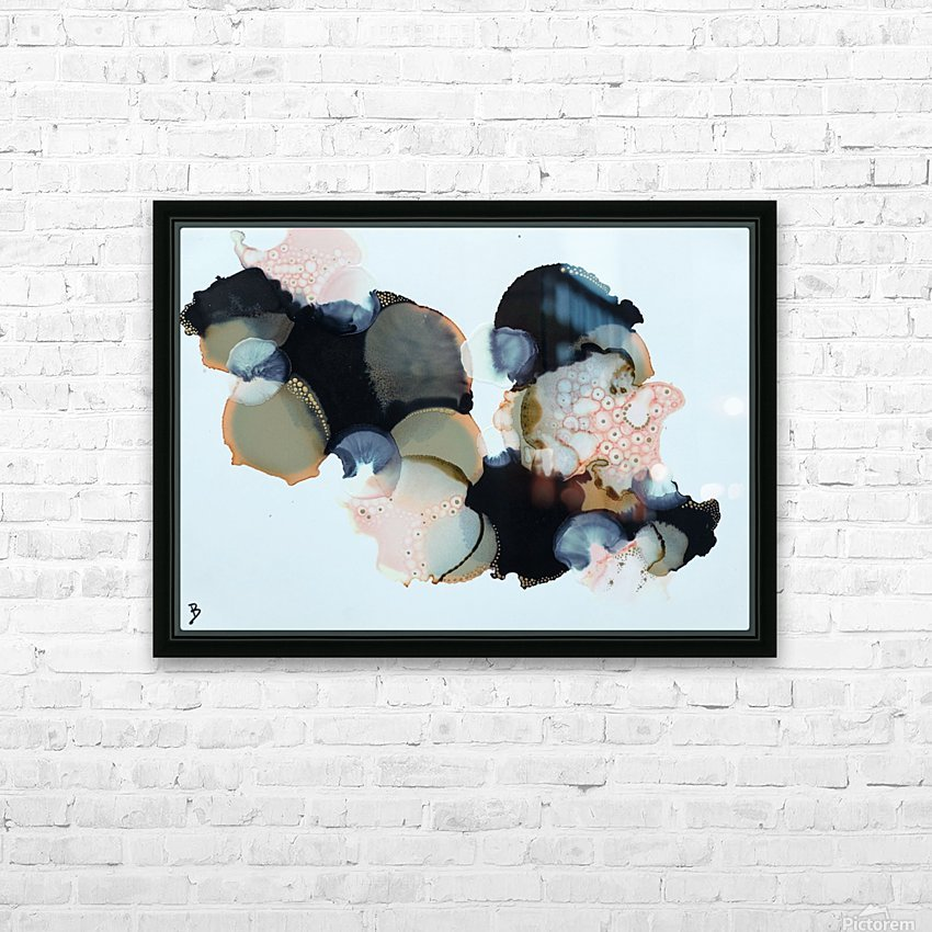 Retro II HD Sublimation Metal print with Decorating Float Frame (BOX)