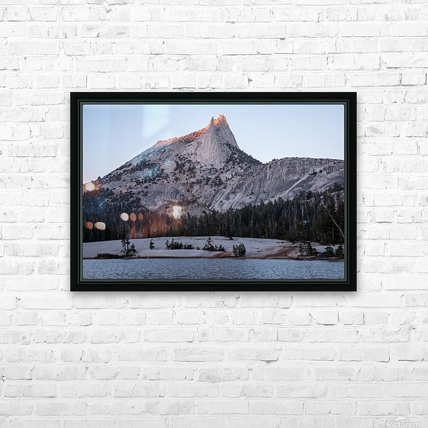 Cathedral Peak Yosemite National Park HD Sublimation Metal print with Decorating Float Frame (BOX)