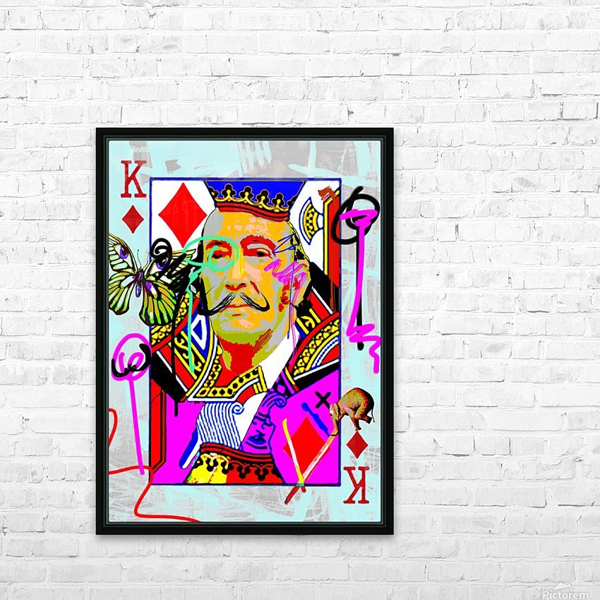 K of Dali HD Sublimation Metal print with Decorating Float Frame (BOX)