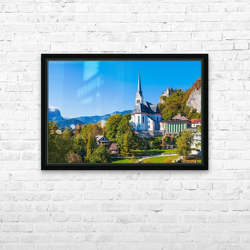 BLED 10 HD Sublimation Metal print with Decorating Float Frame (BOX)