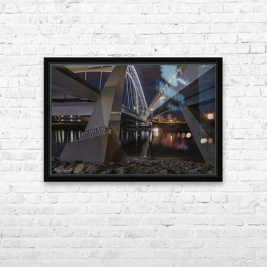 WalterdaleBridge_DSC4252 HD Sublimation Metal print with Decorating Float Frame (BOX)