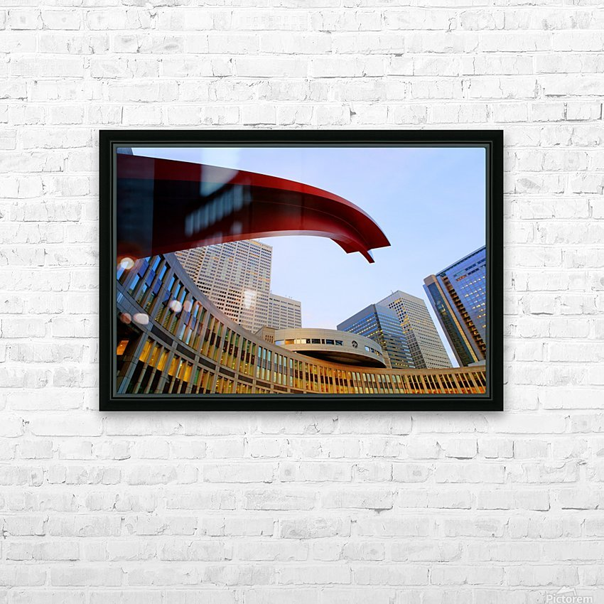 Tokyo Metropolitan Area HD Sublimation Metal print with Decorating Float Frame (BOX)