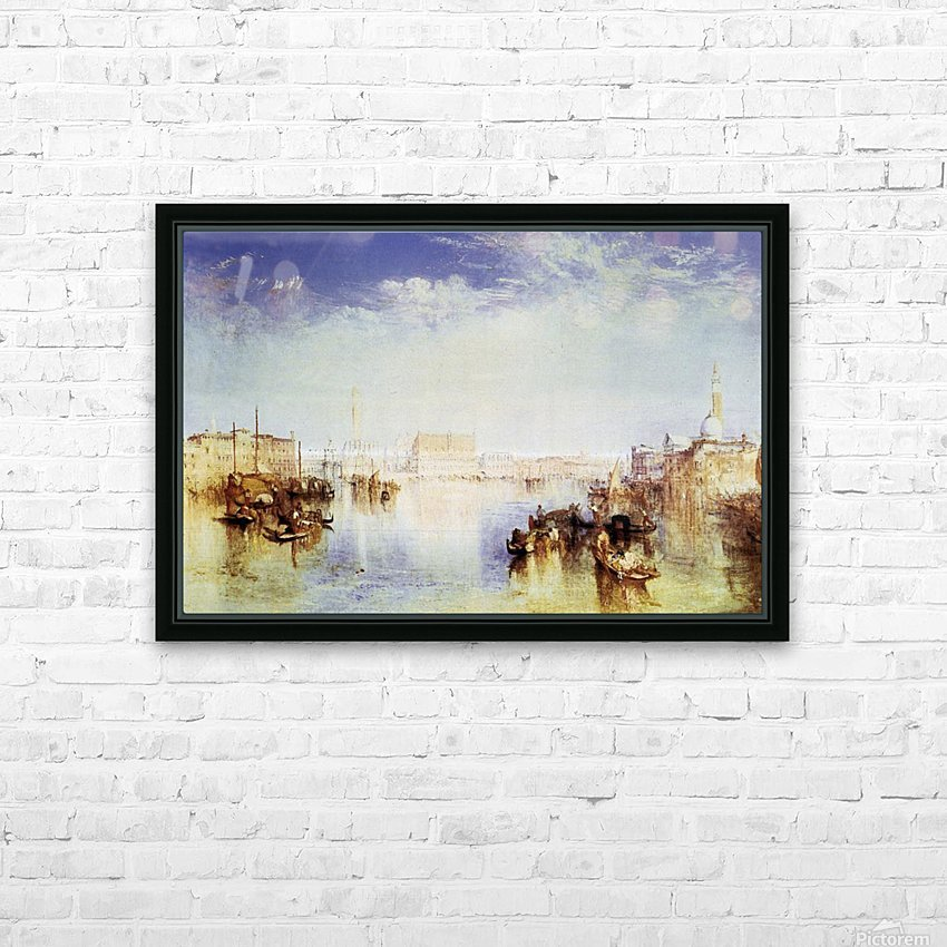 San Giorgio Venice  by Joseph Mallord Turner HD Sublimation Metal print with Decorating Float Frame (BOX)