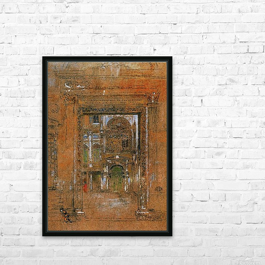 San Giovanni Apostolo et Evangelista by Whistler HD Sublimation Metal print with Decorating Float Frame (BOX)