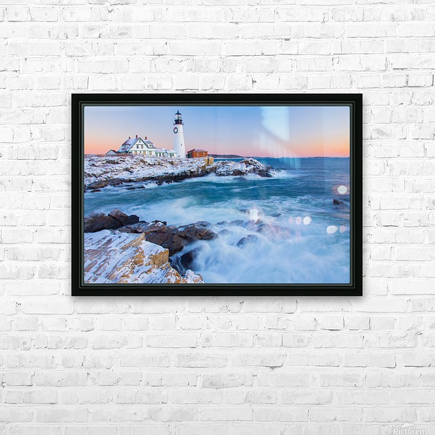 Beacon Dawn HD Sublimation Metal print with Decorating Float Frame (BOX)