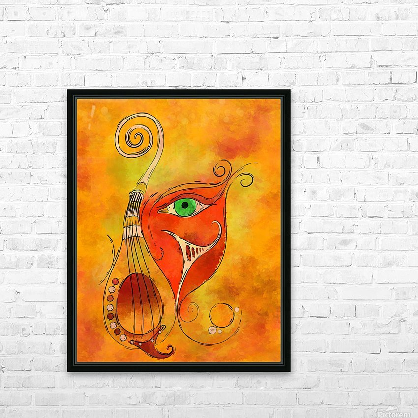 Masquerevue - beauty behind the instrumental mask HD Sublimation Metal print with Decorating Float Frame (BOX)