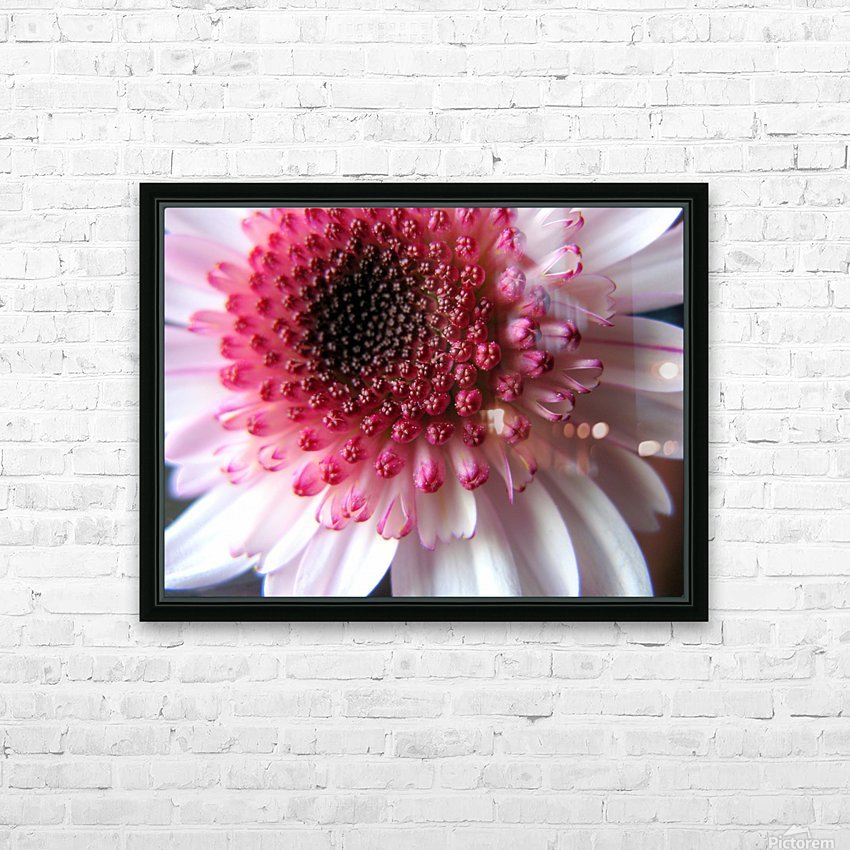 Floral Delicacy HD Sublimation Metal print with Decorating Float Frame (BOX)