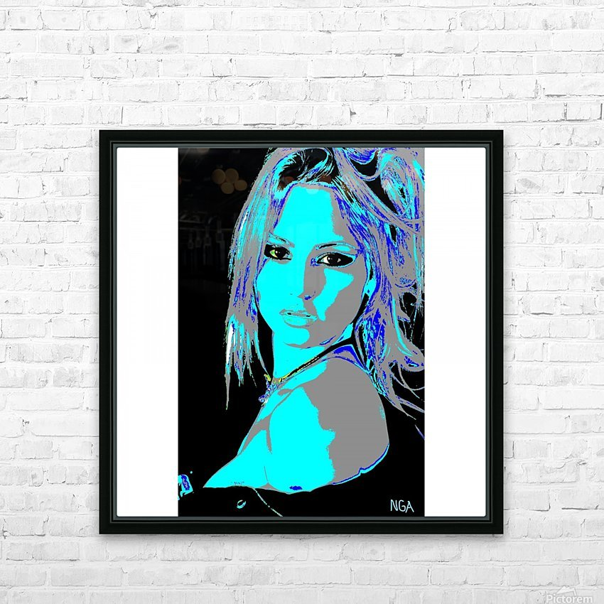 A Pretty Girl by neil gairn adams  HD Sublimation Metal print with Decorating Float Frame (BOX)