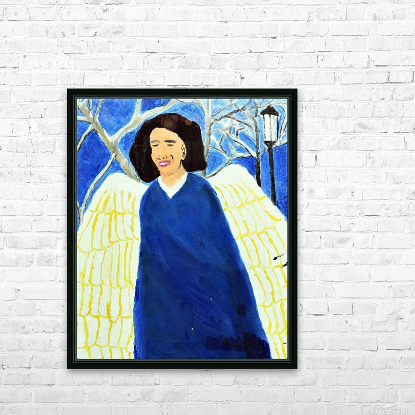 Angel. Kelly R HD Sublimation Metal print with Decorating Float Frame (BOX)