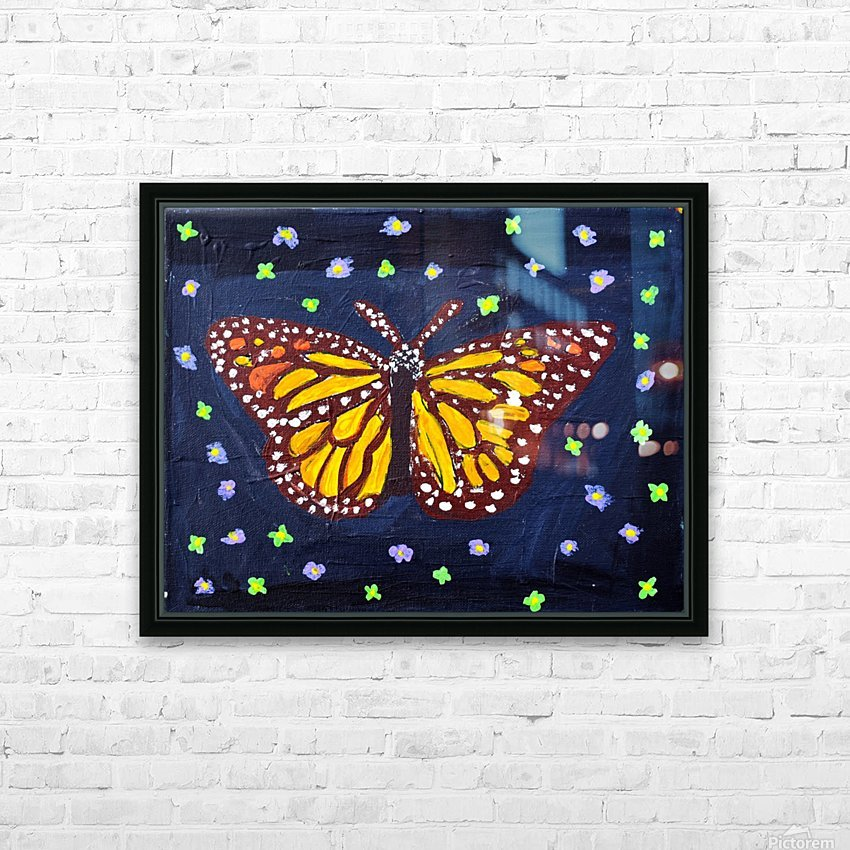 Mariposa. Maggie Z HD Sublimation Metal print with Decorating Float Frame (BOX)