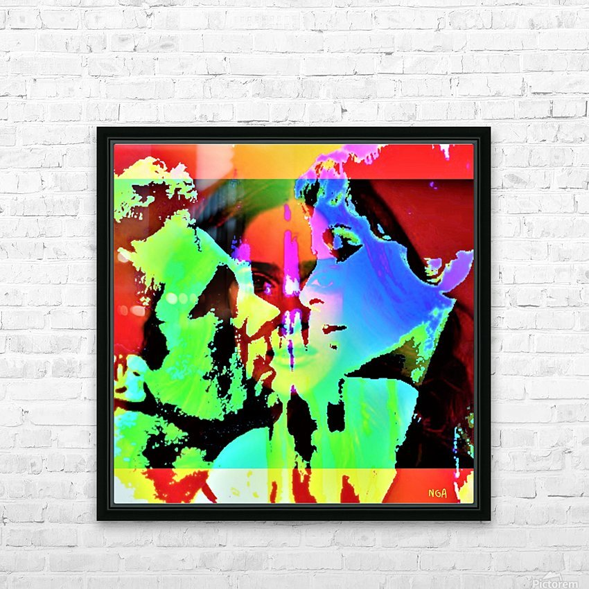 Elizabeth Taylor - Forever My Cleopatra by Neil Gairn Adams HD Sublimation Metal print with Decorating Float Frame (BOX)