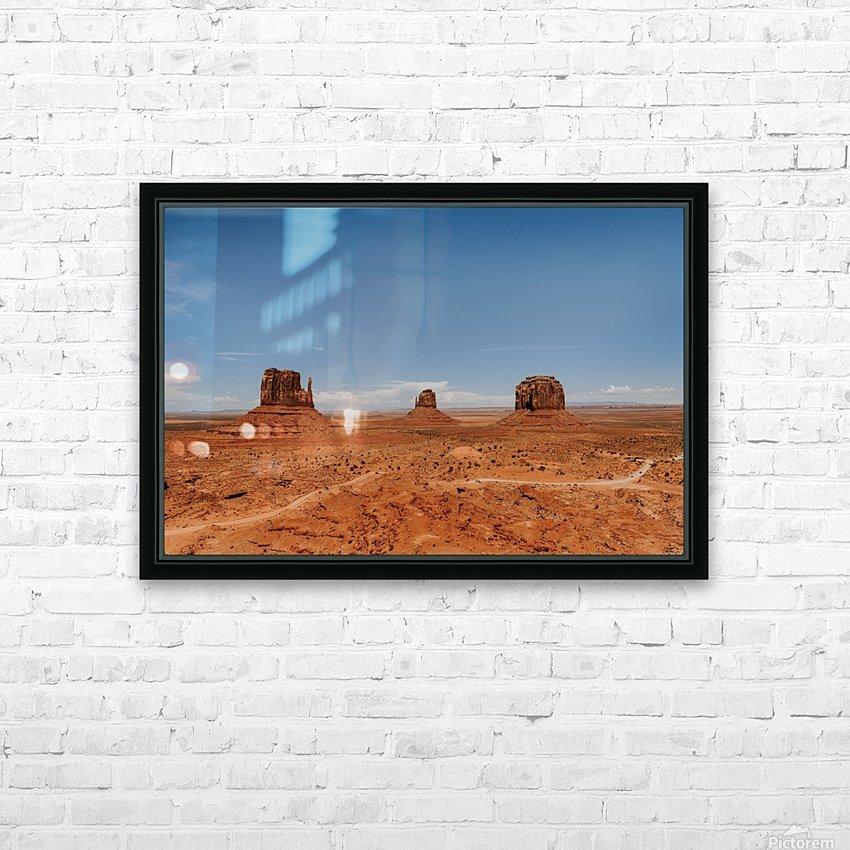 Monument Valley HD sublimation métal imprimé avec décoration flotteur cadre (boîte)