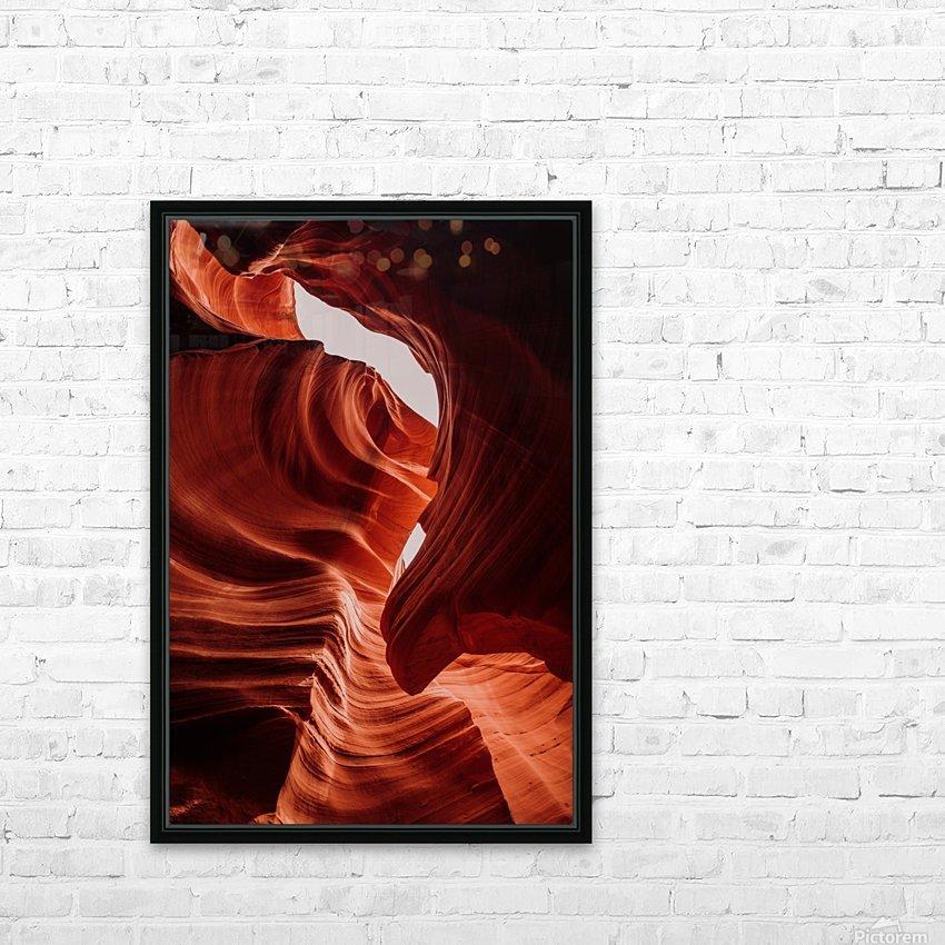 Antelope Canyon HD sublimation métal imprimé avec décoration flotteur cadre (boîte)