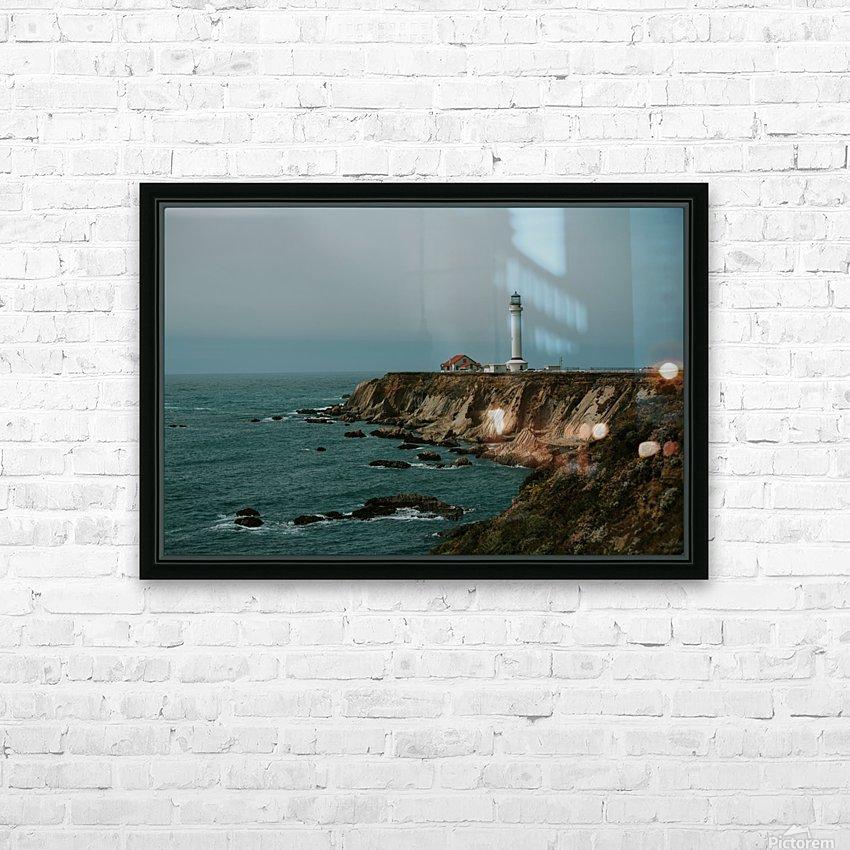 Point Arena Lighthouse California HD sublimation métal imprimé avec décoration flotteur cadre (boîte)