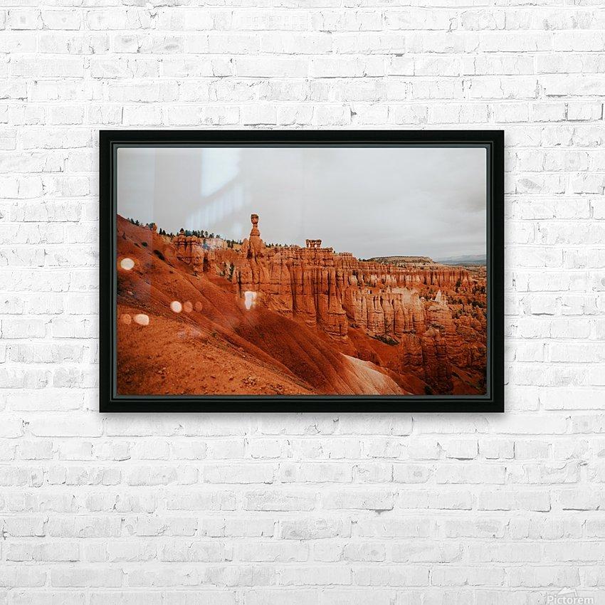 Bryce Canyon Utah HD sublimation métal imprimé avec décoration flotteur cadre (boîte)