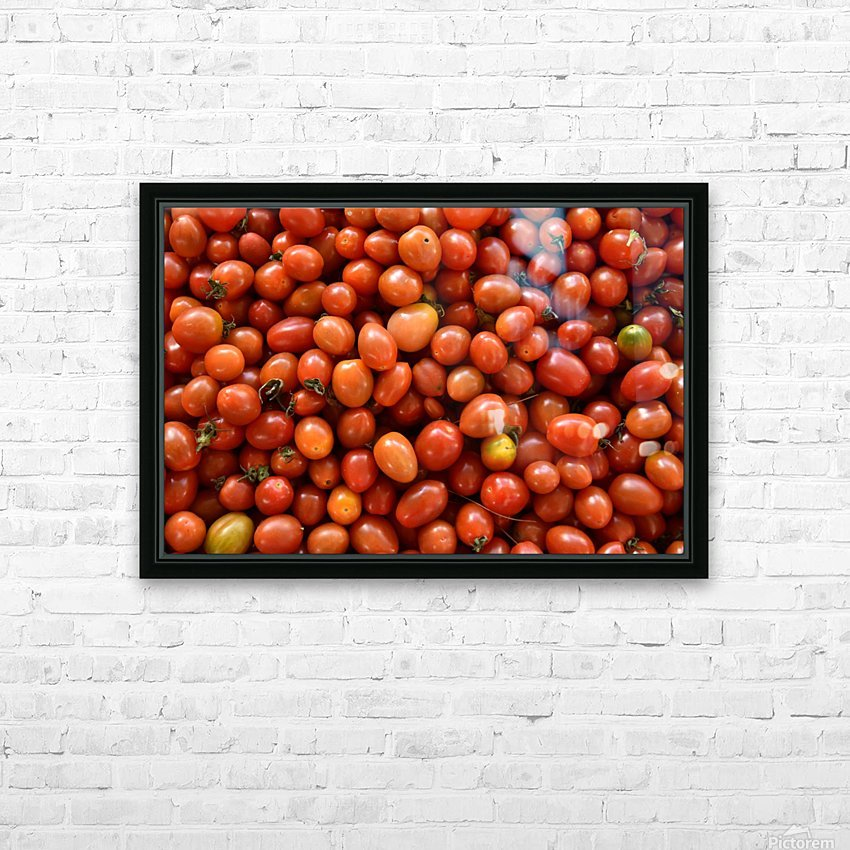 Food - Fruits - 004 HD Sublimation Metal print with Decorating Float Frame (BOX)