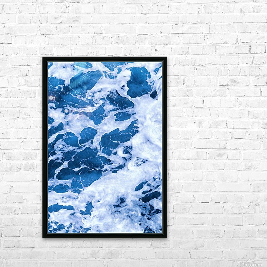 Tropical_XI HD Sublimation Metal print with Decorating Float Frame (BOX)