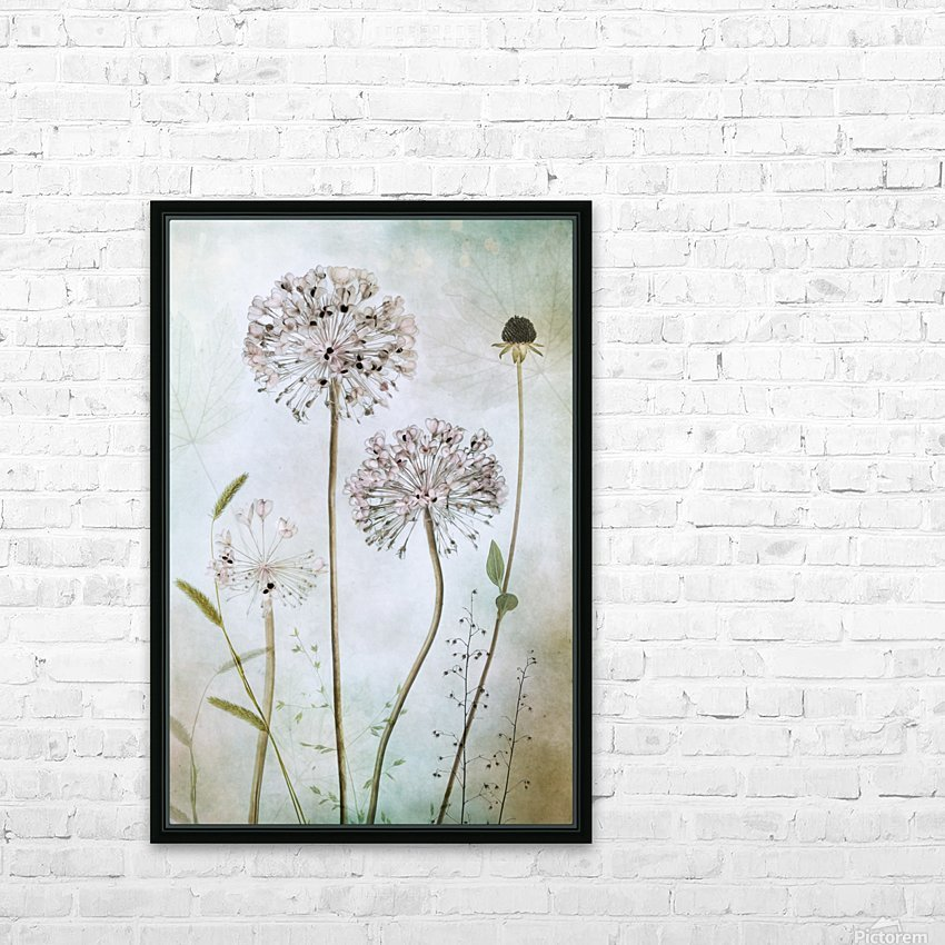 Allium HD Sublimation Metal print with Decorating Float Frame (BOX)