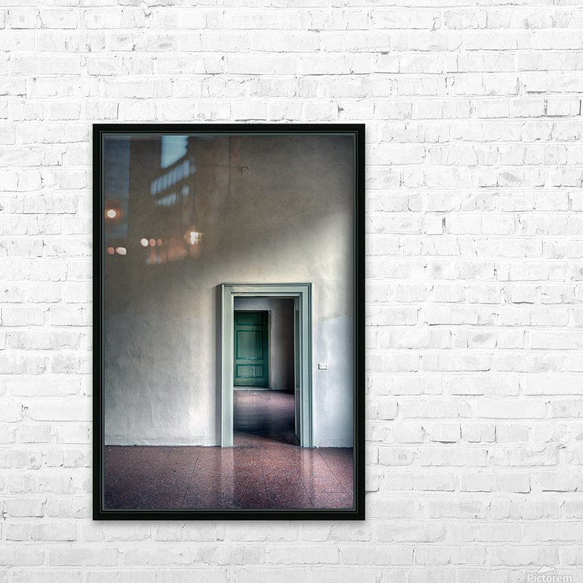 The beauty of emptiness HD Sublimation Metal print with Decorating Float Frame (BOX)