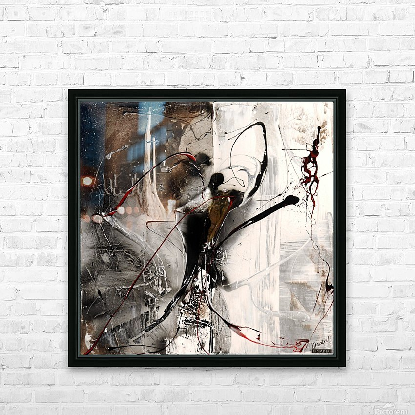 3396 stare at the window HD Sublimation Metal print with Decorating Float Frame (BOX)