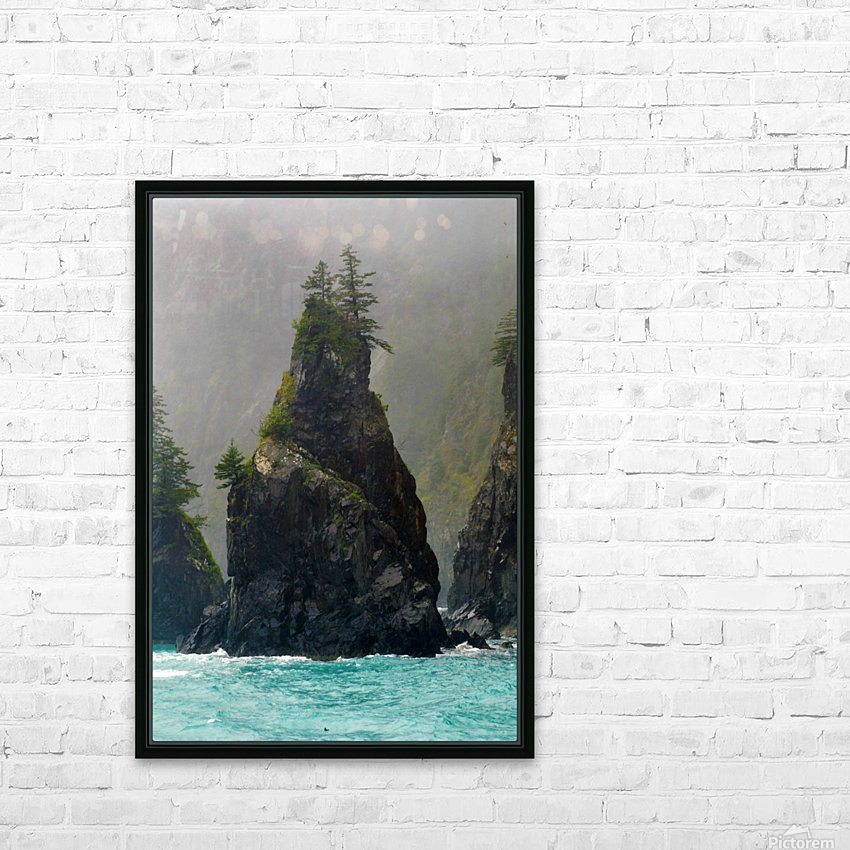 Sounds of Alaska HD Sublimation Metal print with Decorating Float Frame (BOX)