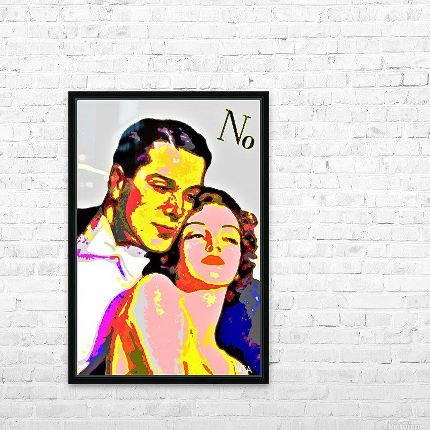 Voulez Vous Couchez Avec Moi - by Neil Gairn Adams HD Sublimation Metal print with Decorating Float Frame (BOX)