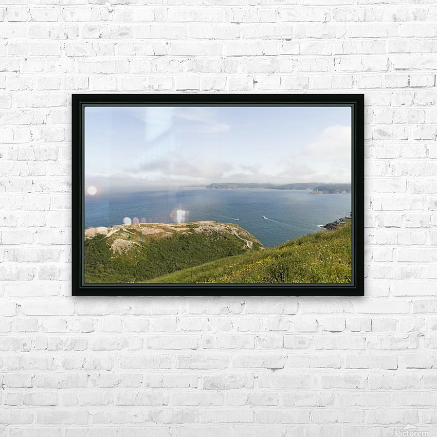 Vista from Signal Hill HD Sublimation Metal print with Decorating Float Frame (BOX)